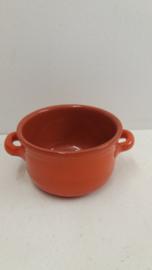 Oranje stoofpan 14 centimeter / Orange casserole 5.5 inch.