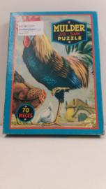 Mulder Jig-saw puzzel nr. 9060 Haan / Mulder Jig-saw puzzle nr. 9060 Rooster