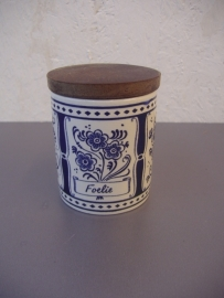 Kruidenpotje Wachtersbach / Herb jar  Wachtersbach