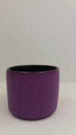Bloempot in paars nr 2119 / Planter in purple nr 2119
