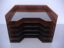 Lp houders stapelbaar / Lp Holders stackable transparant