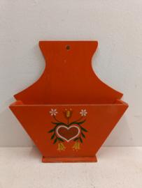 Oranje koffie filterhouder / Orange coffee filter holder