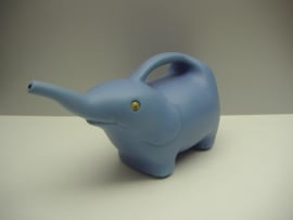 Gieter olifantje blauw / Watering can Elephant style blue