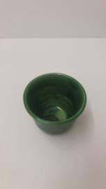Klein bloempotje in groen nr. 1114 / Small planter in green nr. 1114