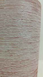 Vaas in wit geborstelde uitvoering 1075 / Vase in white with brushed execution 1075