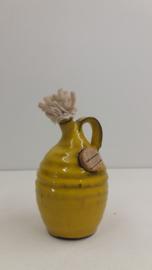 Potterie de Graaf vuurtest in geel / Pottery de Graaf fire tess in yellow