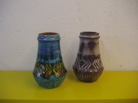 Carstens setje vazen in nummer 51-15 / Carstens set vases in number 51-15