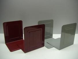 Boekensteuntjes in rood en grijs Tomado ?? / Bookends in red and gray Tomado ??