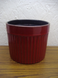 Bloempot 1015/3 rood 13 cm. / Planter 1015/3 red 5.1 inch.
