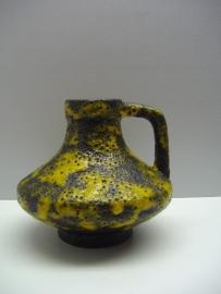 15 cm. hoog Jopeko in zwart en geel fatlava