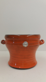 Speck Oranje met oortjes 12.5 x 17 cm. / Orange with little handles 4.9 x 6.7 inch.