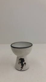 Minivaasje met paardje Benegas / Mini vase with little horse Benegas