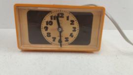 Mooi oranje wekkertje van Hema / Nice orange alarm clock by Hema