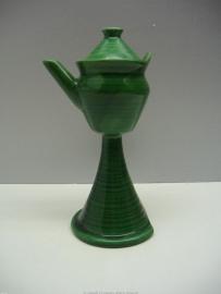 Snotje in groen keramiek / Small lantern in green