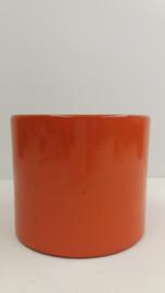 Oranje bloempot nummer 1 / Orange planter number 1
