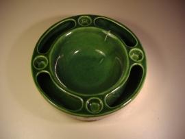 Bloemensteker in oud groen 20 cm. / Flower plug in old green 7.9 inch.