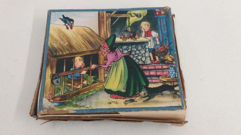 Kolibrie Wooden Jig-saw Hans en Grietje / Kolibrie Wooden Jig-saw Hans and Grettle