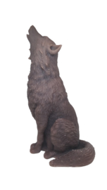 Grote wolf 20cm mal