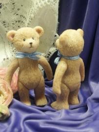 3D Teddybeer en popje mal