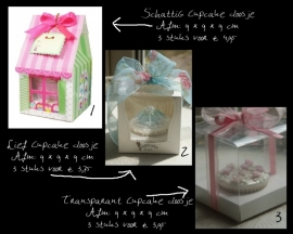 Cupcake doosjes