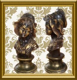 Barok lady kaarsmal