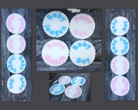 Cupcake toppers mal