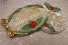 Mal voor kerstlabels