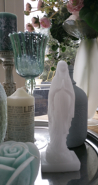 Mariabeeld kaars mal 27 cm hoog