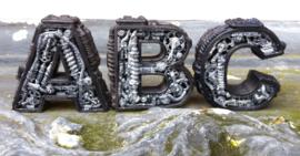 Stoom Punk alfabet