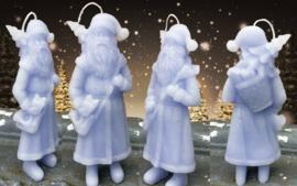 Grote kerstman mal