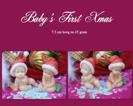 Baby's first xmas mal