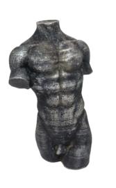 male torso 15cm kaars mal