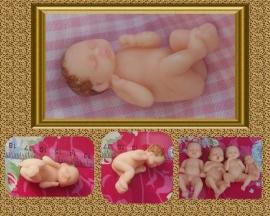 Mini babytje 3D mal