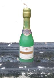 Champagne fles mal
