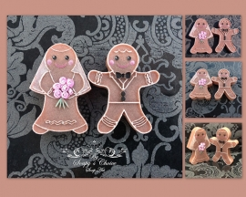 Gingerbread Bride & Groom mold