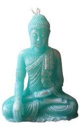 Zittende Boeddha mal 15cm hoog