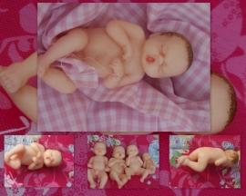 baby girl 3D mal 2