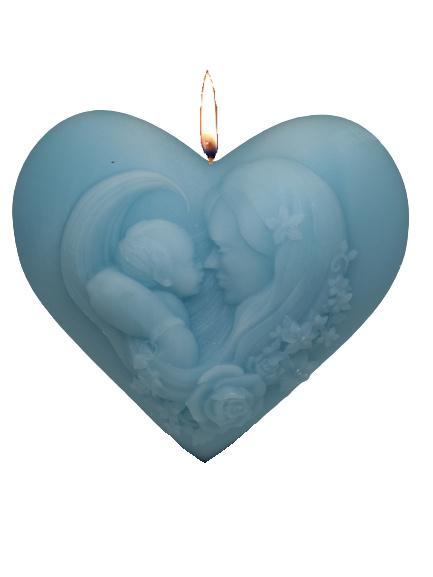 3D hart moederdag mal