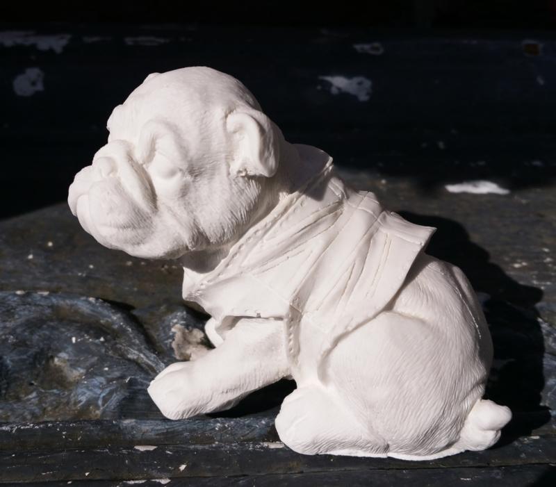 Engelse Buldog pup mal