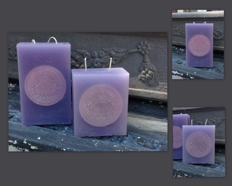 Blok met verwisselbaar inleg kaarsenmal