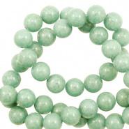 Kraal groen meadow 6 mm half edelsteen jade