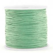 Macramé draad groen basil 0,8 mm