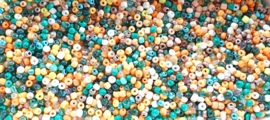 Rocailles mix autumn sprinkles 4 mm