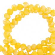 Facetkraal geel golden glow 3x2 mm 290 stuks