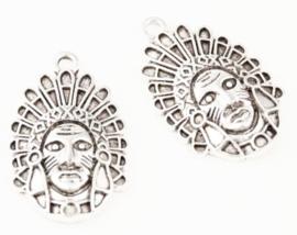 Bedel indiaan zilver