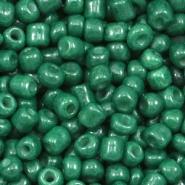 Rocailles groen hunter 4 mm 20 gram