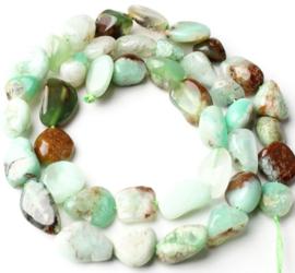 Natuursteen nugget kralen Jade 10 stuks 8-10 mm