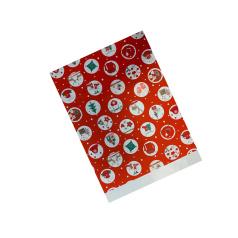 Papieren zakjes Kerst Snow Balls 12x19 mm