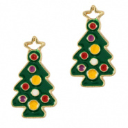 Bedel kerstboom goud groen