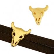 Schuifkraal buffel goudkleurig DQ